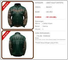 desain jaket warna coklat jaket motor distro