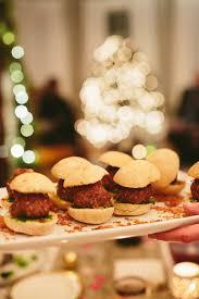 lamb meatball sliders with chimichurri and crispy shallots