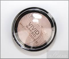makeup revolution radiant lights makeup revolution radiant lights vivid baked highlighter review