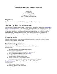 Legal Assistant Job Description Resume by Sample Resume Legal Secretary Resume For Your Job Application