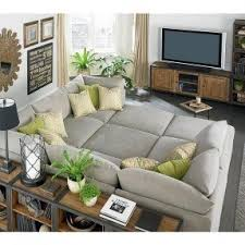 Sectionals With Sofa Beds Home Theater Sectional Sofas Foter