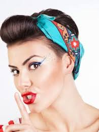 how to wear bandanas with bob hairstyles 50s hairstyles for short hair 50s hairstyles bob hairstyle and