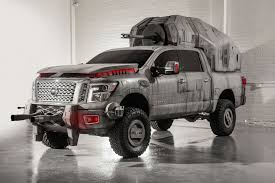 nissan titan camper star wars inspired nissan titan at m6 walker assaults l a show