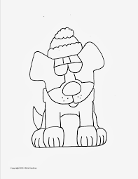head christmas dog coloring pages 1696 christmas dog coloring