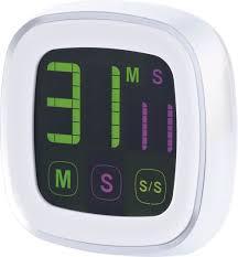 minuterie de cuisine minuteur digital de cuisine avec écran tactile et support aimanté