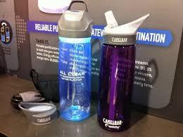 uv light water treatment blue light special camelbak s new uv water purifier bottle bikerumor