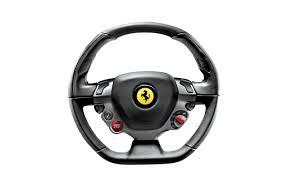 cartoon ferrari steering the way 2010 ferrari 458 italia steering wheel feature