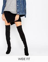 river island womens boots sale comfortable river island wide fit block heel the knee boots