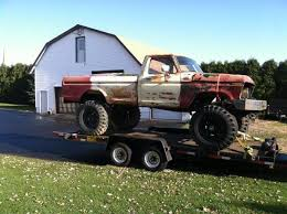 1973 1979 ford truck parts 1978 f250 frame offroad bumpers front rear truck