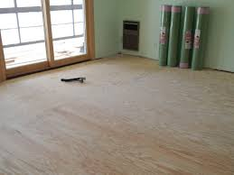 preparing subfloor for laminate flooring wood and concrete subfloors