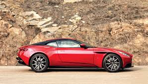 aston martin front the db11 performs and handles better than any previous aston