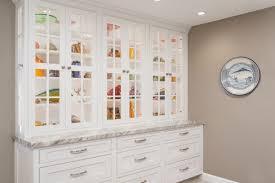 Kitchen Display Cabinet Contemporary White Kitchen