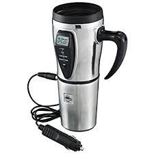 heated coffee mug amazon com tech tools heated smart travel mug with temperature