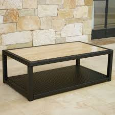 latest stone coffee table that will create captivating room decors