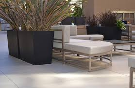 Tall Rectangular Planter by Geo Rectangle Planter Contemporary Patio Los Angeles By