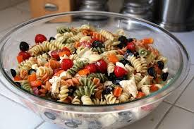 Cold Pasta Salad Recipe Summer Pasta Salad Gluten Free Option Vegan Option Vegetarian