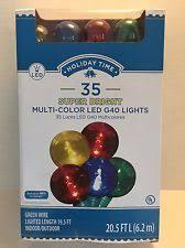 time bright led pet multi g40 lights multi