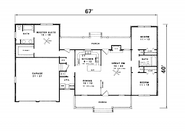 ranch house floor plans with basement house plans ranch style home luxihome