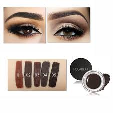 henna eye makeup online shop focallure 5 color henna eyebrow tint makeup waterproof