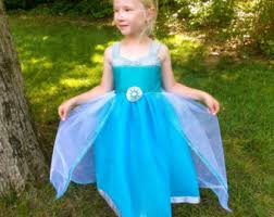 Queen Elsa Halloween Costume Elsa Tutu Dress Etsy
