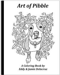 13 pit bull color pages images coloring pages