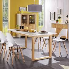 Esszimmer Danish Design Esstisch Hanstholm 90x190 Eiche Weiß Dänisches Bettenlager