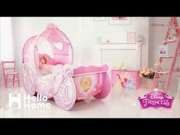 disney princess carriage bed hellohome youtube