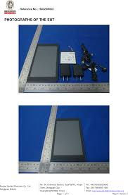 bureau tcl b055 tablet pc external photos fcc 15c tcl communication ltd