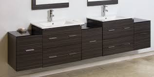 Wall Mounted Bathroom Vanity by Bathroom Cabinets Double Modern Wall Mount Bathroom Cabinet