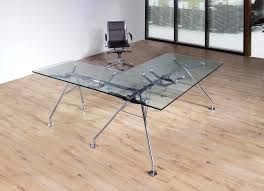glass top l table harriett l shape glass table size w180xd90xh75 w100xd65xh75cm