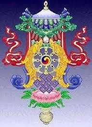 Buddhist Treasure Vase Buddhist Symbols