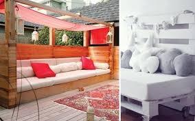 canapé lit en palette brico canape lit planche bois palettes en bois idées de