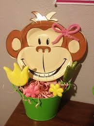 Baby Monkey Centerpieces by 348 Best Monkey Bday Party Images On Pinterest Monkey Birthday
