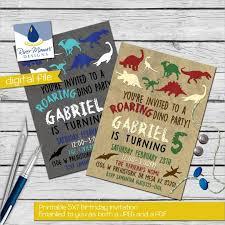 dinosaur birthday invitation template 30 free psd eps jpg