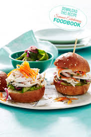 Summer Entertaining Recipes - these delicious herbed chicken sliders can be found in the 2016
