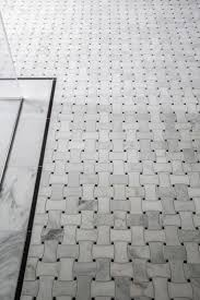 best 25 white mosaic tiles ideas on pinterest white mosaic the basketweave tile pattern draws on the classic traditions of black and white mosaic tile in bathrooms while keeping a contemporary feel