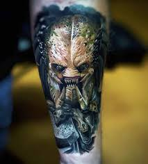 tribal predator tattoo pictures to pin on pinterest tattooskid