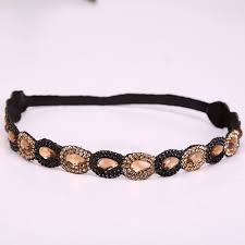 beaded headband beaded headband new wholesale fashion sparkly gems handmade