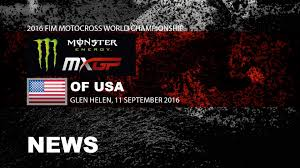 what channel is the motocross race on monster energy mxgp of the usa race highlights 2016 motocross