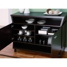 furniture of america modern avant garde 2 cabinet dining buffet
