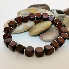 men beads bracelet images Mens beaded bracelet wood bead bracelet unisex jpg