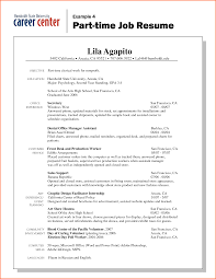 General Job Resume by First Job Resume Examples Free Resume Example And Writing Download