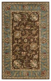 Chocolate Brown Area Rugs Amazing Teal And Chocolate Rugs Roselawnlutheran With Regard To