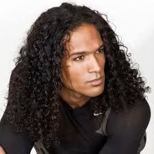 haircuts for men with long curly hair sunny curly hairstyles for men