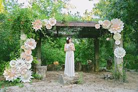 wedding arches for sale in johannesburg wedding paper flowers wedding flair