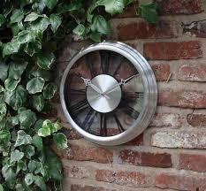awesome garden wall clocks french garden wall clock victorian wall