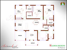 4 bedroom single house plans 4 bedroom single floor house plans kerala style architectural designs