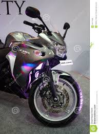 cbr latest bike honda cbr 250r super bike at auto world expo 2011 editorial stock