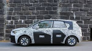 opel meriva 2017 2017 opel meriva spied up close with conventional rear door open