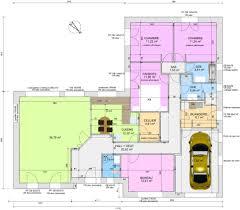 plan de maison de plain pied avec 4 chambres plan de maison de plain pied avec 4 chambres cheap plan maison d
